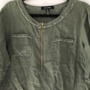 Ellen Tracy linen shirt